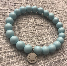 Ti Sento bracelet - Blue With Sterling Silver Logo