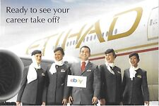 ETIHAD AIRLINES READY TO SEE YOUR CAREER TAKE OFF? HIRING CABIN CREW 2008 AD
