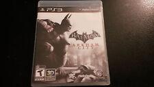 Batman: Arkham City PS3 CIB TESTED cd With Manual Playstation 3