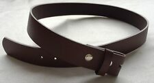 Snap On ~ BROWN LEATHER BELT STRAP (Brown) ~ Medium ~ MSRP $24.95