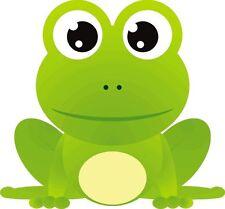 Frog Cartoon Froggy Sticker Decal Graphic Vinyl Label V2
