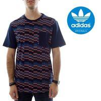Adidas Originals Mens Gonz Striped Tee T Shirt Short Sleeve Casual Size Small