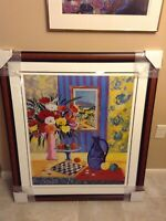 Art Print Le Vase Blue de Madrid by Jean-calude Picot (Brand new, Limited)