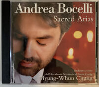 Andrea Bocelli - Sacred Arias CD 1999 Philips VG