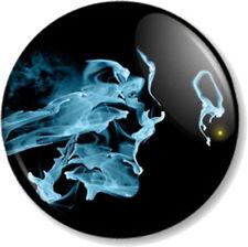 """Fringe Smoke Face 25mm 1"""" Pin Button Badge TV Series Sci-Fi FBI Symbol Image"""