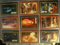 1991 Impel Star Trek card base full complete set TOS The Next Generation 160 310