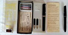 Sheaffer No-nonsense Calligraphy Pen Set and 1 English Osmiroid Calligraphy Pen