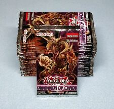 Yugioh Dimension of Chaos 24 1st Ed Booster Packs = Box Quantity Unsearched New