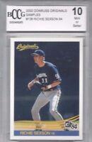 2002 Donruss baseball card #136 Richie Sexson, Milwaukee Brewers BCCG 10 MINT