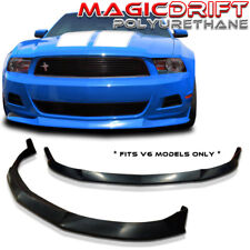 10 11 12 FORD MUSTANG V6 STL POLY URETHANE FRONT BUMPER LIP CHIN SPLITTER PU