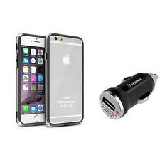 Étuis, housses et coques Bumper noir transparent pour téléphone mobile et assistant personnel (PDA)