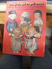 Vintage Dolly Dingle Paper Dolls Complete Uncute 1978 Grace G Drayton