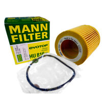 MANN HU 816 x Engine Oil Filter fit BMW