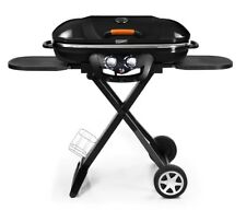 BBQ Go Cook Folding Portable 2 Burner Barbecue Grill For Home Camping Caravan