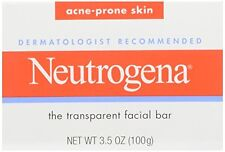 3 Pack - Neutrogena Acne Prone Skin Formula Facial Bar 3.50oz Each