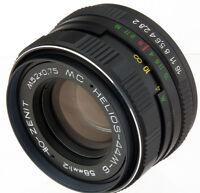 MC Helios-44M-6 58mm 50mm 60mm f/2 USSR biotar M42 lens Zenit Canon Pentax dSLR