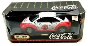 Matchbox Collectibles  Coca-Cola 1999 VW (Volkswagen) Beetle Diecast Car (Z1)