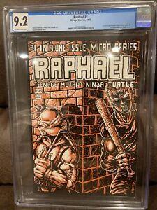 Raphael #1 CGC 9.2 (Teenage Mutant Ninja Turtles!)