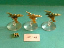 Battlefleet gothic - Eldar Flotte - Nachtschatten Zerstörer x3 - Metall OT148