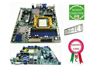 SCHEDA MADRE SOCKET AM3 ACER EXTENSA RS880M + LAMIERA BACK PANEL DDR3 MEMORY