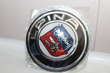 T Logo 82mm Car Hood emblem badge For ALPINA BMW