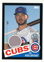 KRIS BRYANT 2020 TOPPS 1985 GAME-USED JERSEY BLACK #054/199 RELIC CUBS