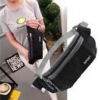 Outdoor Sport Bum Bag Fanny Pack Travel Waist Money Flexible Belt Zip Pouch ❀S