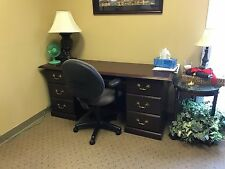 Used office furniture - desks and credenzas - good condition