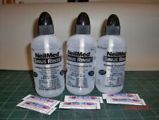 Neilmed Sinus Nasa Mist Saline Spray & Nasa Flo Sinus Rinse bottles