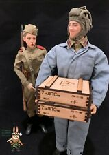 1/6 scale crate box WWII Soviet Union (Set of 3) for 1/6 diorama and vehicle