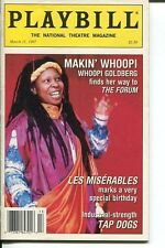 Whoopi Goldberg Lew Miserables Joel Grey Tap Dogs March 31 1997 Playbill