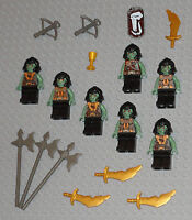 LEGO Minifigures Lot 7 Monster Army Trolls Guys Lego Minifig Castle Knight Toys