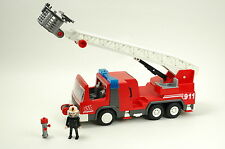 Vintage Playmobil Fire Engine Ladder Truck 3182