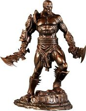 GOD OF WAR USED KRATOS STATUE FIGURE SIDESHOW WITH SERIAL NUMBER LIMITED omega