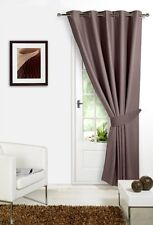 Mink 66 Width X 84 Drop Only 1 Panel Supersoft Thermal Blackout Door Eyele