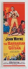 The Barbarian & the Geisha Fridge Magnet (1.5 x 4.5 inches) insert movie poster