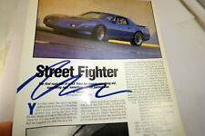 Pontiac 1LE Trans Am Street Fighter Advertisement Ad Magazine clipping Musclecar