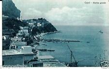 cm 241 Anni 20 CAPRI (Napoli) Marina grande - non viagg - FP - Ed. Brunner Como