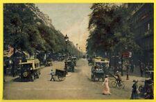 75 - Belle Carte Postale Ancienne de PARIS Boulevard MONTMARTRE Charette à Bras