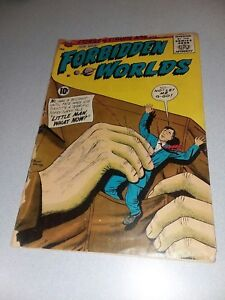 FORBIDDEN WORLDS #97 ACG 1961 early silver age horror comics ogden whitney cover