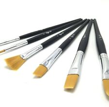 Rigger Art- Premium Artist's Brush Collection With Zipped Case 6pk