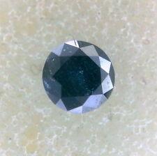 Tiny 0.12CT 2.8mm I2 Round Brilliant cut Blue Green color Loose Natural Diamond