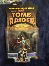 NUOVO SIGILLATO 1997 TOY BIZ Tomb Raider Figura-Lara Croft-videogioco SUPERSTARS