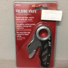 6.5 in. Fixed Blade Folding Knife Black 2369189