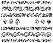 Nail art stickers décalcomanie bijoux d'ongles: fins motifs fleuris tendance