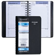 2022 At A Glance Dayminder G100 00 Daily Appointment Book 4 78 X 8