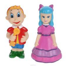 Set of 2 toys for bath Buratino and Malvina  - new