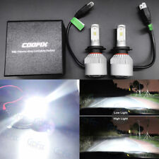 NEW 2x H7 6000K Super White 55W 8000LM CREE LED Headlight High Low Beam Fog Bulb