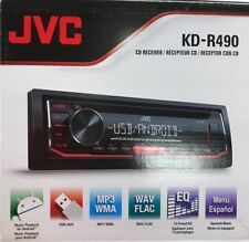 JVC - KD-R490 - 1-DIN In Dash Car CD Receiver Stereo Radio w/ USB/AUX/AM/FM