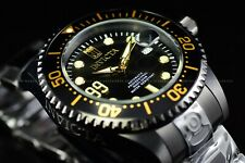 "Invicta 47mm Limited Ed ""JT"" Grand Diver Jason Taylor Auto ""99"" All Black Watch"